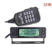 LEIXEN VV 998S VV 998 Mini 25W Dual band VHF UHF 144/430MHz Mobile Transceive Amateur Ham Radio Car Radio