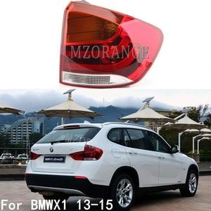Image 1 - MZORANGE שמאל וימין חיצוני זנב אור עבור BMW X1 2013 2014 2015 אחורי פגוש זנב מנורת להפסיק אור רכב אבזרים