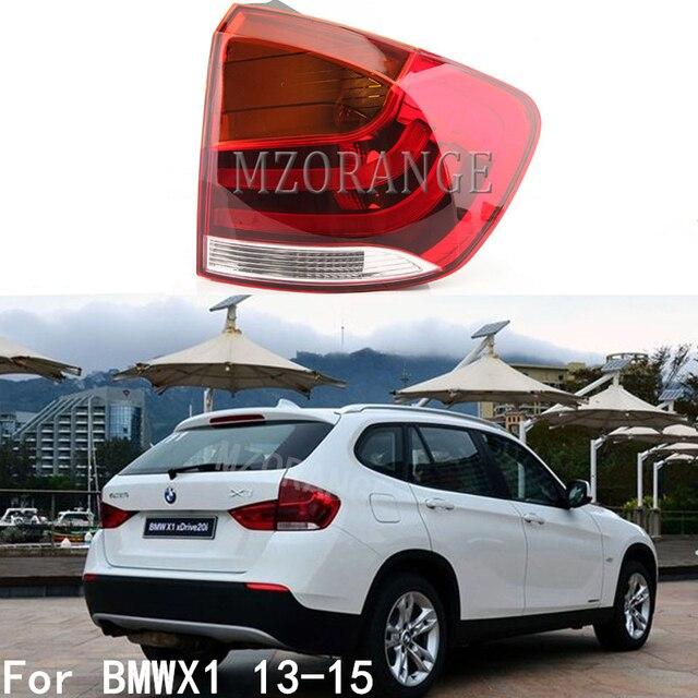 MZORANGE שמאל וימין חיצוני זנב אור עבור BMW X1 2013 2014 2015 אחורי פגוש זנב מנורת להפסיק אור רכב אבזרים