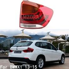 Mzorange esquerda & direita exterior luz da cauda para bmw x1 2013 2014 2015 amortecedor traseiro cauda lâmpada parar luz acessórios do carro