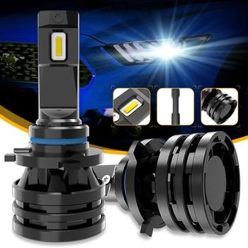 M2 Автомобильные фары H7 16000LM H11 Светодиодный лампы для автомобильных фар H4 H1 H3 H8 H9 9005 9006 HB3 HB4 9012 H13 9007 Turbo светодиодный 12 в 24 В