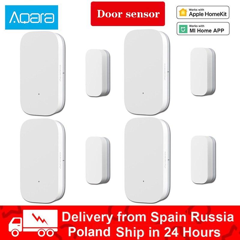Xiaomi Aqara Door Window Sensor Zigbee Wireless Connection Smart Remote Control Mini door Work With MiHome  Apple Home kit