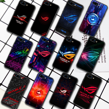 Republic Of Gamers ROG Phone Case For HUAWEI Honor 6A 7A 8 8A 8S 8x 9 9x 9A 9C 10 10i 20 Lite Pro black Cell Tpu Hoesjes