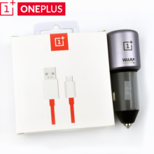 oneplus 7 t Car Charger Original 5V 6A Warp Fast Type-C cabl