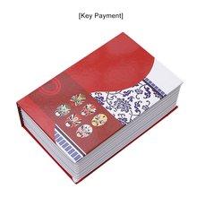 Изысканный Креативный Книга Сейф Креативный Книга Страхование Коробка Деньги Коробка Маленький Ключ Коробка Креатив Хранение Подарок