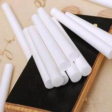 Белые мелки для рисования без пыли школьного обучения Высококачественные