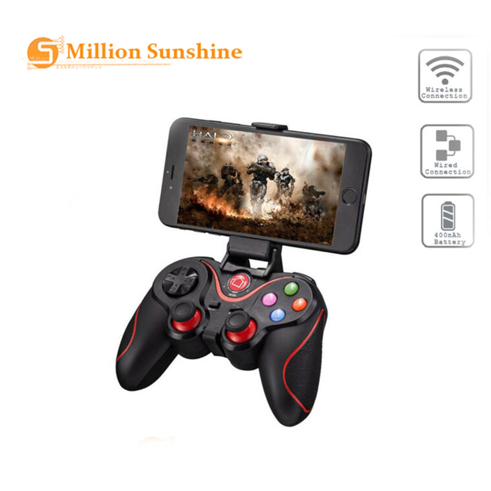 X3 Game Controller Smart Wireless Joystick Bluetooth Android Gamepad Gaming Remote Control T3/S8 Phone PC Phone Tablet