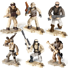 Toy Trooper Building-Block-Figurines Action-Figures Jty-Toys Special Military Ce