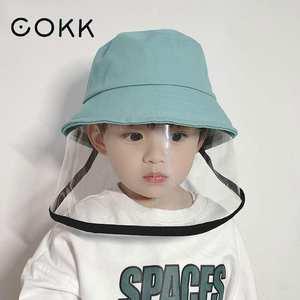 COKK Hat Face-Bucket Anti-Spitting-Splash Waterproof Protection Kids for Girl Boy Outdoor