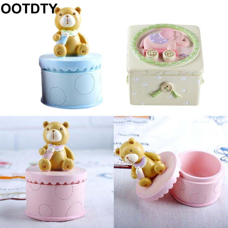 Baby Deciduous Teeth Box Infants Lanugo Collection Boxes Umbilical Cord Storage Box Creative Birthday Souvenir Gifts For Childre
