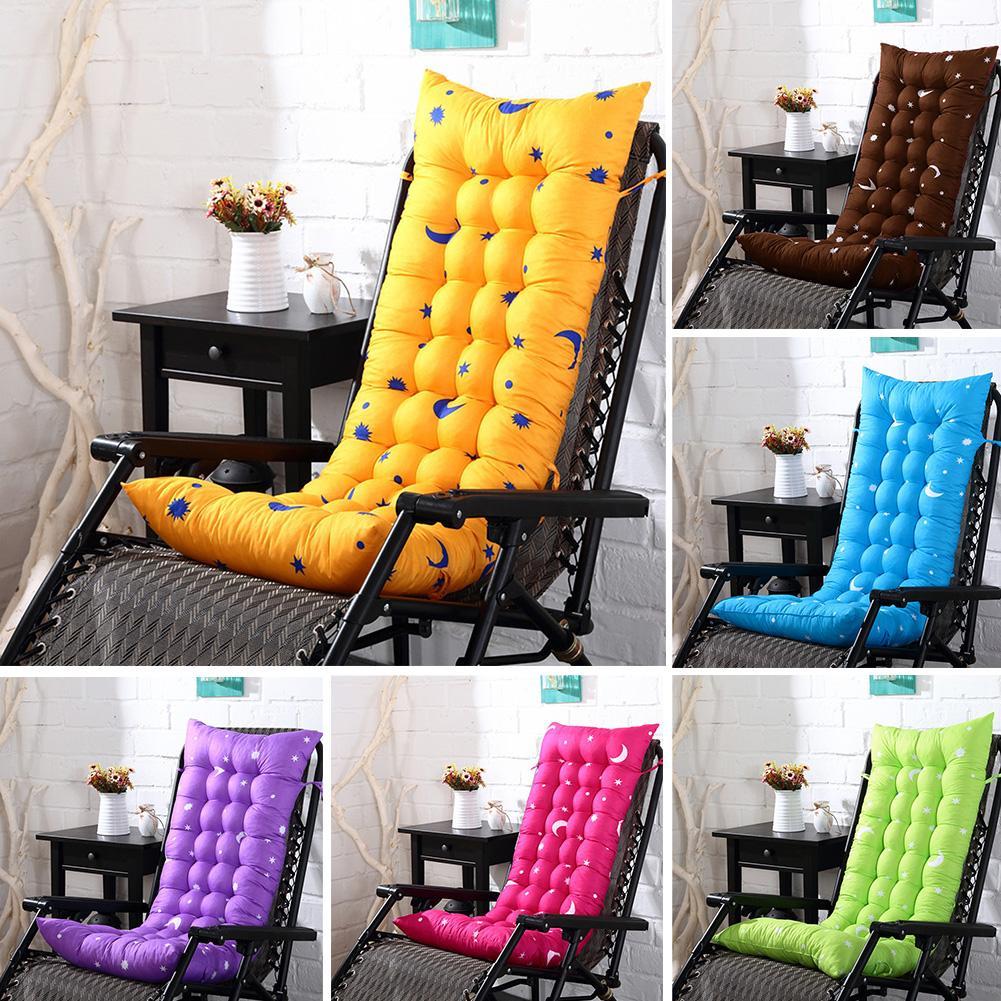 Модные Плотные однотонные мягкие садовые кресла-качалки, подушки для уличного бассейна, толстые удобные подушки для сидений от солнца