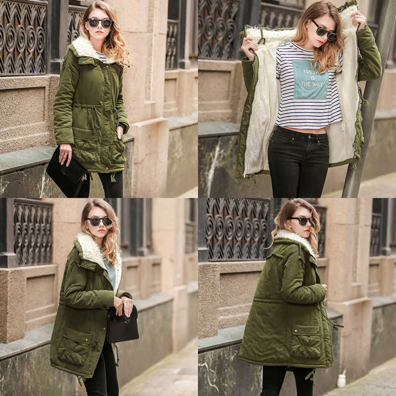 Winter Warm Maternity jackets & coats for Pregnant women Maternity clothes Winter Lamb cashmere Fashion Slim Pregnancy clothes