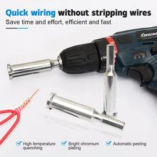 Electrical Wire Twisting Tool Universal Automatic Cable Stripper Device Wire Stripping Connector Hand Tool Stripper Twisting