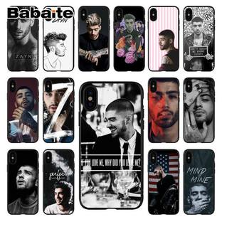 babaite Zayn Malik One Direction Phone Case for iPhone 11 Pro XR se2020 samsung a30 s s8 huawei nova7pro p30lite redmi note8pro image
