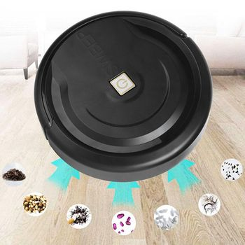 Intelligent Robot Vacuum Cleaner USB Charging Household Wireless Sweeping Robot Dust Hair Cleaning Mopping Sweeper imass a3 intelligent cleaning robot sweeper robotic multifunction automatic vacuum cleaner with mopping cloth clean tool