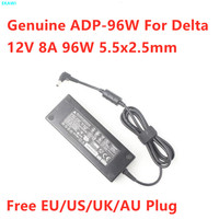 Genuino Delta 12V 8A 7.5A 96W 5,5x2,5mm ADP-96W adaptador de CA para QNAP TS-451 NAS DPS-90AB-3 DPS-90FB un ordenador portátil cargador de fuente de alimentación