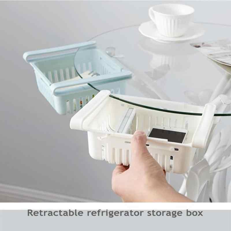 المطبخ المادة تخزين الرف الثلاجة صندوق تخزين الثلاجات درج الرف لوحة الخضار الفاكهة المنظم صندوق Rangement