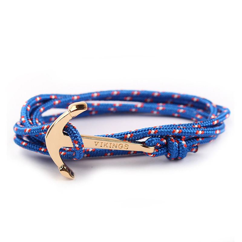 Bracelets porte-bonheur ancre Vikings  5