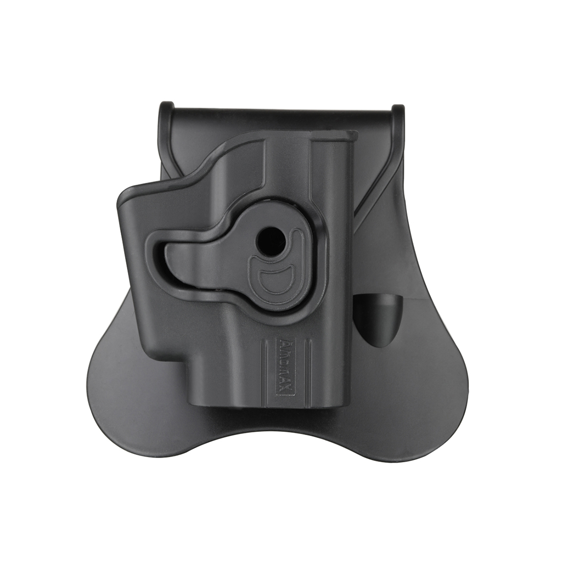 Amomax Adjustable Tactical Holster for Ruger LCP/Taurus TCP/KEL-TEC P-3AT - Right-handed Black (Standard only with waist plate)