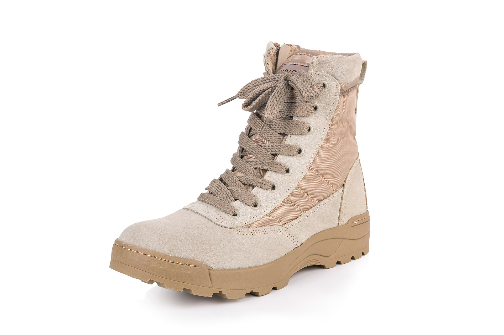 Manufacturers Direct Selling Sandy Color Desert Combat Boots Amu Desert Boots SFB Canvas Breathable Sandy Color Boots Desert Can