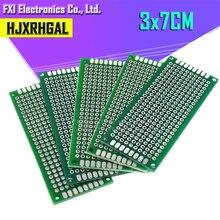 5 шт. 3x7 см 3*7 двухсторонний Прототип PCB diy универсальная печатная плата igmopnrq
