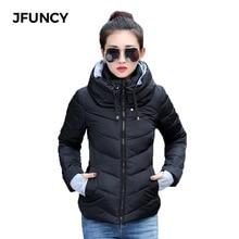 Winter Jacket Women Cotton Padded Coat 2019 Slim Hooded Jacket Women Outerwear Female Snow Wear Cotton Short Jacket цены онлайн