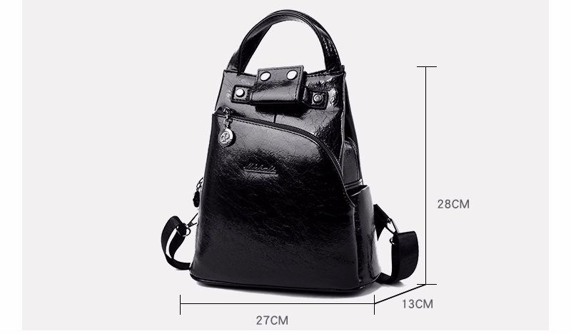 H81c6111f351a460389c8bcc73acfe540H - Women Leather Backpacks High Quality Sac A Dos Anti-theft Backpack For Girls Preppy School Bags For Girls Casual Daypack