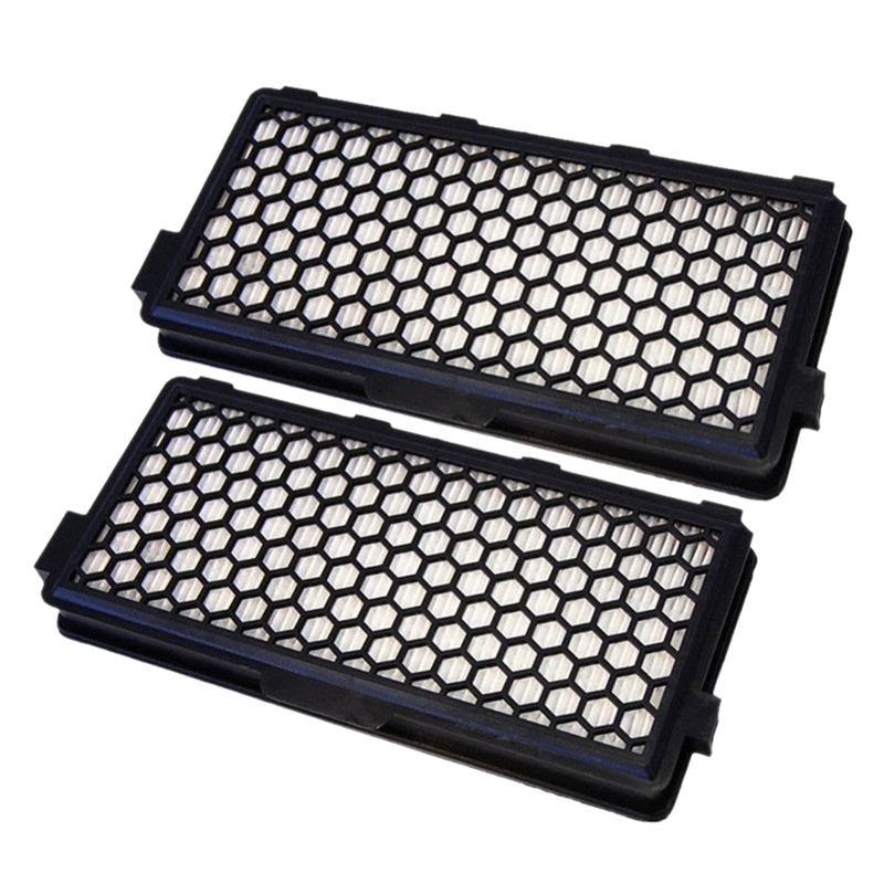 2Pcs Vacuum Cleaner Accessories Parts Dust Hepa Filter For MIELE SF-AAC 50 S4000 S5000 S6000 S8000 Series SR047