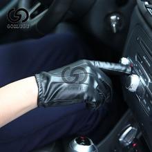 Guantes Tactil Glove Women Touched Screen Gloves Men Leather gloves Autumn Winter Full Finger Unisex luvas цена