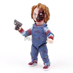 "Image 2 - NECA Childs לשחק טוב חבר ה אולטימטיבי צ אקי PVC פעולה איור אסיפה דגם צעצוע 4 ""10cm"