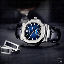 PLADEN Luxury Brand Japanese Quartz Male Watches Men Strong Waterproof Genuine Leather Strap Citizen Movement Quartz Wrist Watch