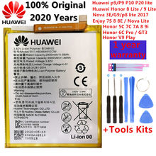 3000mah para huawei p9/ascend p9 lite/g9/honor 8/honor 5c/g9 EVA-L09/honor 8 lite/p10 lite/nova lite/honor 6c pro/v9 jogar bateria