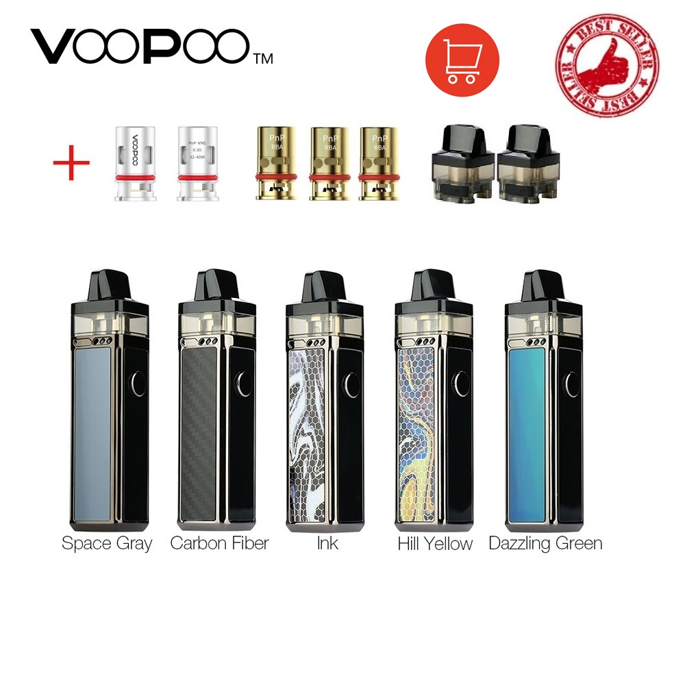 Hot VOOPOO VINCI R Mod Pod Vape Kit 1500mAh Battery 5.5ml Cartridge Electronic Cigarette Vaporizer GENE.AI Chip With PnP Coil