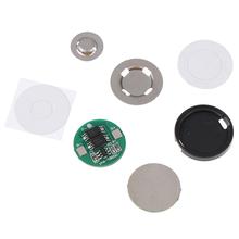 1 zestaw uniwersalny 18650 bateria litowa podwójna płyta ochronna MOS 4 2V18650 cylindryczna płyta ochronna 6A prądu tanie tanio HUXUAN