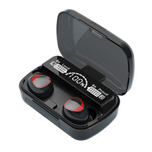 Zestaw słuchawkowy Bluetooth TWS zestaw słuchawkowy bez użycia rąk bezprzewodowe słuchawki z mikrofonem akcesoria do grania hurtownia telefonu muzyka nowe sportowe słuchawki douszne