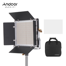 Andoer Professional LED Video Light Dimmable 660 LED Bulbs Bi Color Light Panel 3200 5600K for Studio Photography Video Shooting