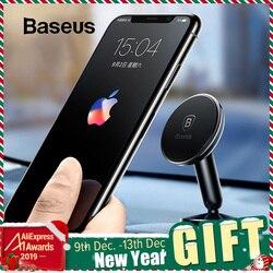 Baseus suporte do carro universal para o telefone móvel suporte de suporte no carro suporte do telefone de montagem para carro 360 graus magnético titular do telefone do carro