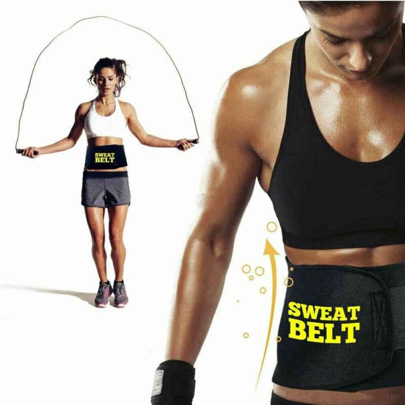 ใหม่ล่าสุดเข็มขัดเหงื่อ Shaper Body Neoprene กีฬารัดตัวเอวซาวน่าผู้หญิง Belly เทรนเนอร์ในร่ม Unisex Shapers