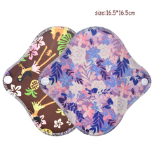 5pcs Women washable sanitary apkins pads menstrual pads reusable bamboo Mama menstrual panties Hygiene Pads Towel Pads Size S