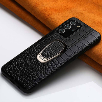 Genuine Leather Phone Case for Samsung Galaxy Note 20 Ultra Note 10 9 8 S20 FE S10 S8 S9 Plus M31 A50 A70 A51 A71 Magnetic Cover