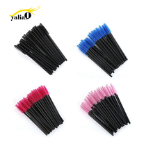 Get more info on the YALIAO 50pcs/bag Disposable Eyelashes Brush Mascara Wands Applicator Makeup Cosmetic Tool Kit Eye Shadow Applicator Eyebrow Comb