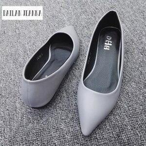 Image 4 - ใหม่ 2017 ฤดูใบไม้ผลิและฤดูใบไม้ร่วงผู้หญิง Loafers Loafers ผู้หญิงรองเท้าส้นแบนรองเท้าสบายๆยุโรปขนาด 31 44