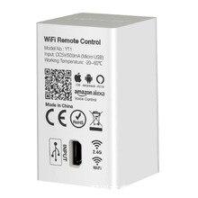 MiBOXER YT1 Remote Controller Amazon Alexa Voice Control WiFi Wireless & Smartphone APP Control work with Miboxer 2.4G Series miboxer yt1 remote wifi led controller amazon alexa voice control wifi wireless