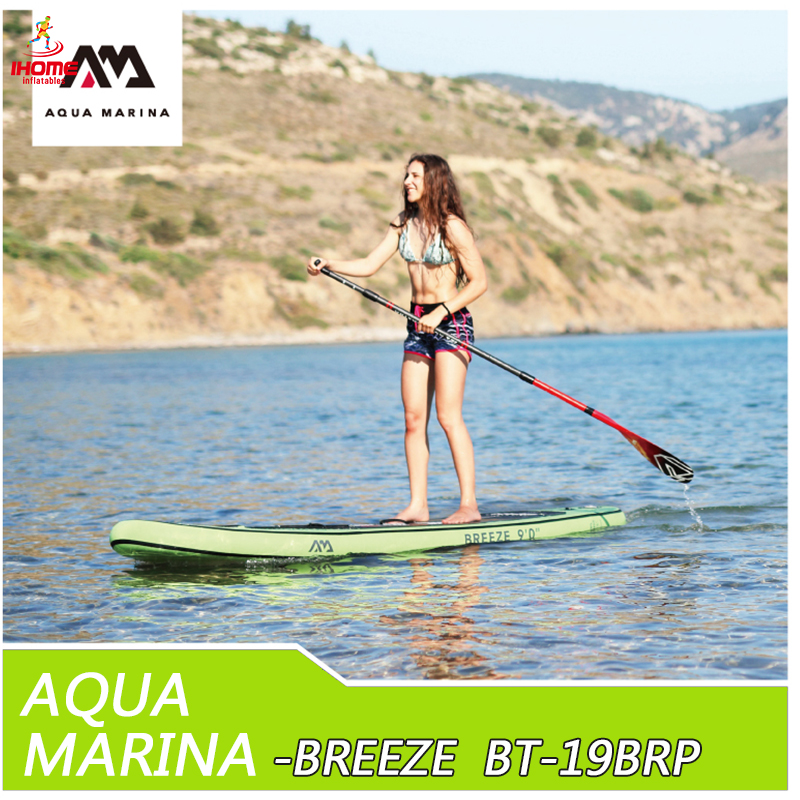 2019 Aqua Marina Breeze BT-19BRP  Inflatable Surfboard Inflatable Surf Board Stand Up Paddle Kayak Inflatable Fishing Boat