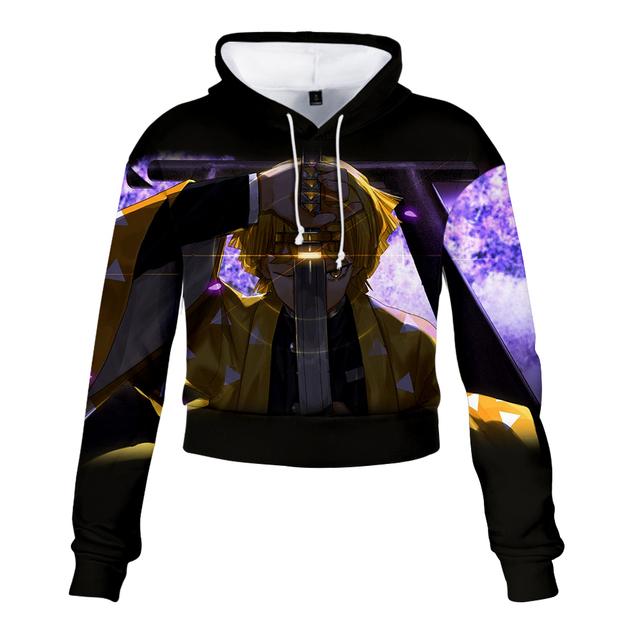Demon Slayer Hoodies 3D Print  Hooded Pullover