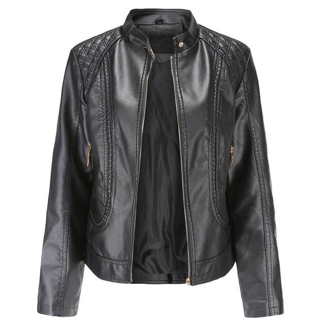 Brown Leather Jacket 2