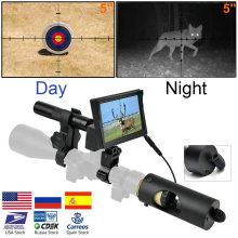 Riflescope Hunting Scopes-Optics Sight Night-Vision 850nm Infrared IR Waterproof LED