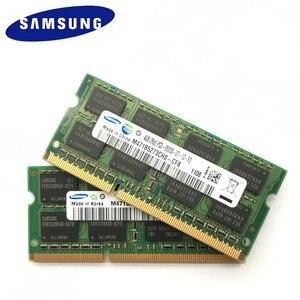 Image 1 - ذاكرة رام سامسونج 8 جيجا بايت (2pcsx4جيجا بايت) 2Rx8 PC3 8500S DDR3 1066 ميجا هرتز 4 جيجا PC3 8500S 1066 ميجا هرتز وحدة نوت بوك SODIMM