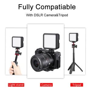 Image 2 - Ulanzi Mini Portable LED Video Light Triple Cold Shoe Rechargeable Vlog Fill Light Photography Lighting Tripod Kit CRI95+