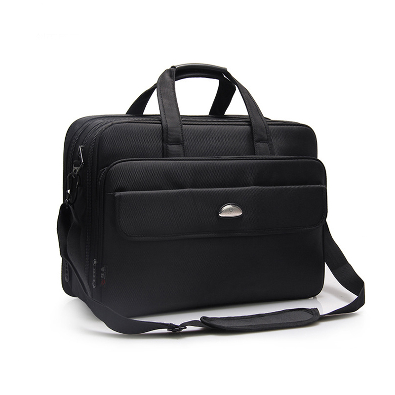Laptop Sleeve Bag Large Capacity Shockproof Business Travel Briefcase Expandable Fits 17 Inch Notebook Cases For Macbook Air Pro